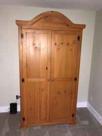 Solid Pine Wardrobe / TV Cabinet
