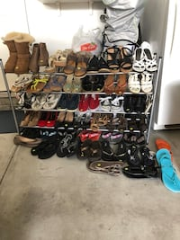 Assorted pairs of shoes lot Omaha, 68144
