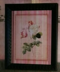white and pink roses painting Brampton, L6X 1A2