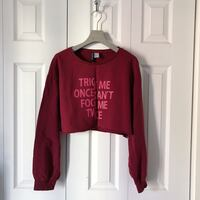 H&M CROPPED SWEATER.  Toronto, M4S 2M5