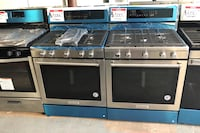 New kitchenAid stainless steel gas stove10% off