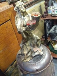 woman figure candle holder