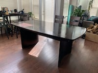 Dining table and 6 chairs  Pitt Meadows, V3Y