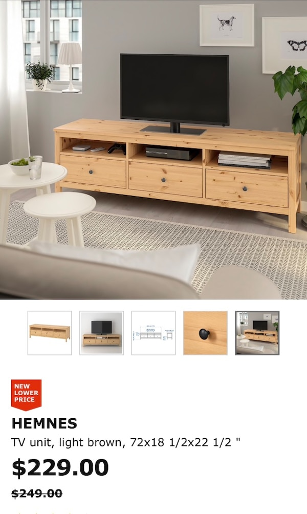 Tv Stand (one year use) 8ff3e3f4-ba2a-424d-b8a4-e9afc3777b9d