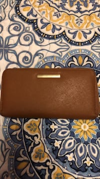 Brown leather wallet Republic, 65738
