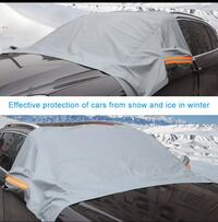 Silver Car Snow Cover Waterproof  Oslo, 0960