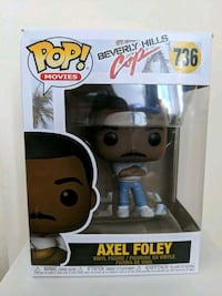 Funko Pop Axel Foley Toronto, M4V