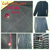 LULU LEMON GORTEX RAIN COAT 3478 km