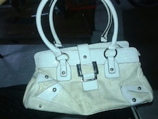 women's white tote bag
