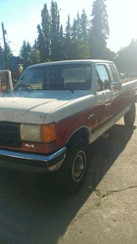 white single cab pickup truck Marysville, 98270