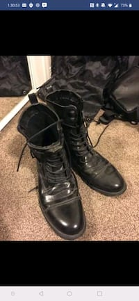 Forever 21 military boots