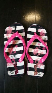 Monster High Flip Flops Girls Size 1-2