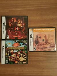 three Nintendo DS games in their cases Detroit Lakes, 56501