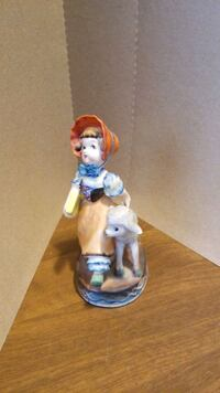 Vintage figurine  '.Mary had a little lamb Somerset County, 08844