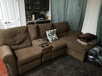 Ashley reclining couch  Hanover, 21076