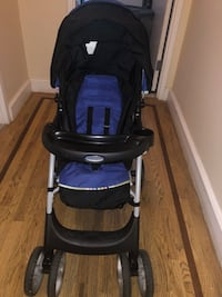 Baby's black and blue stroller North Plainfield, 07060