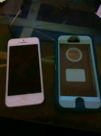 iPhone 5 with OtterBox Amarillo, 79109