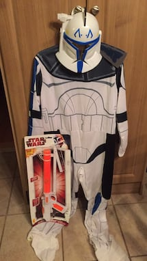 Star Wars Clone Trooper - large for 8-10 years