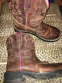 Ariat Fatbaby 8.5B boots Midwest City, 73130