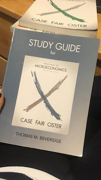 Study guide for micreconomics book