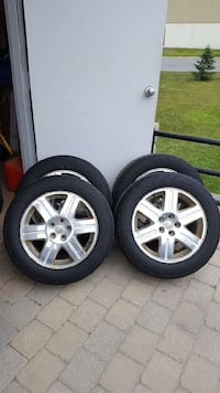 Winter tires and rims 902 km