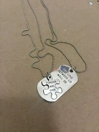 Cute couples necklaces  Prescott, 86305