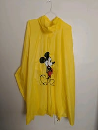 Mickey Mouse rubber poncho