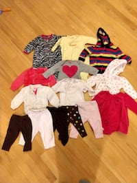Winter girls clothes size 6 months Germantown, 20876