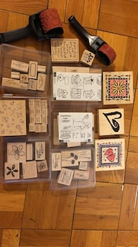 Stampin' up Sets - NEVER USED Arlington, 22201