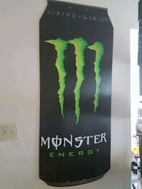 Rare Collectible Giant Monster Energy Can Ottawa, K4A 2Y3