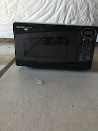 Black and gray microwave oven Fountain, 80817
