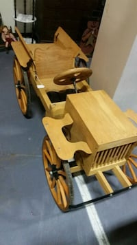 Hand made wooden car. Carroll County
