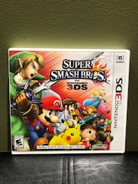 Nintendo 3DS Super Smash Bros Game
