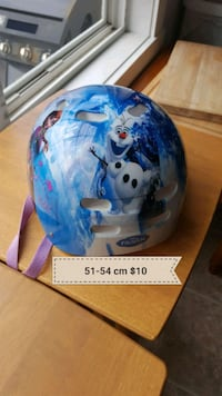 Frozen helmet 51-54cm 5-8 years old Edmonton, T5E 6P1