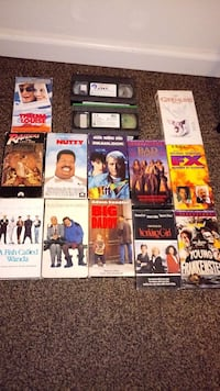 assorted VHS case lot Fresno, 93726