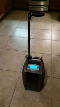 Oxygen machine , used only three months, O2 concepts 3 liter per minute portable oxygen machine with 2 batteries, a.c  adapter, 12 volt car adapter, quick reference guide and owners manual paid $2,900 new.  Total of three months use, perfect working order Los Angeles, 91326
