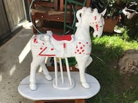 Wooden Horse (need some work has missing pieces) Alhambra, 91803