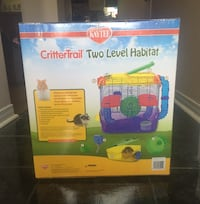 Kaytee crittertrail two level hamster cage Toronto, M1B 1L8