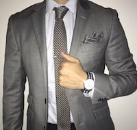 Tie watch and pocket square