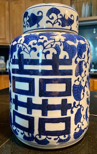 Blue & White Chinese Porcelain Vase Denver, 80204