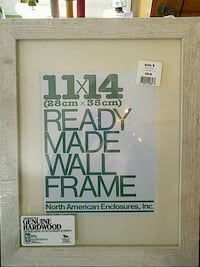 Wooden Picture Frame - White Washed  Manassas