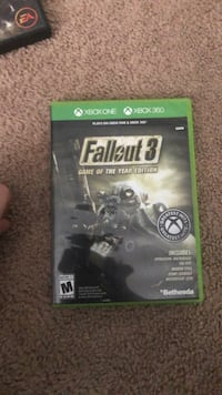 Fallout 4 Xbox One game case 148 mi