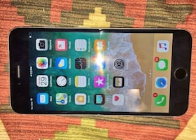 iPhone 6plus in good condition just has scratches, will send it in the mail