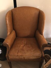 Leather there arm chair Bethesda