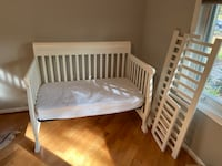 Baby crib / toddler bed with mattress Bethesda, 20814