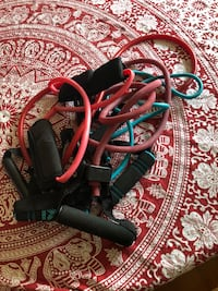5 resistance exercise bands  Poughkeepsie, 12601