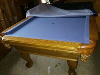 brown and blue pool table Westerville, 43081