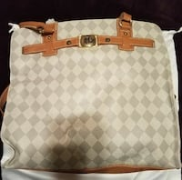 Marc Fisher purse like new gray, tan and white Portsmouth, 23703