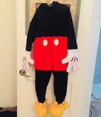 Like new Disney Mickey Mouse costume 5/6 toddler Toms River, 08755