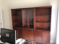 10 piece book shelf set.   All separate pieces easy to create what works for you! Gainesville, 20155